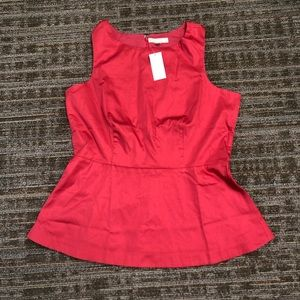 NWT Banana Republic Peplum Top